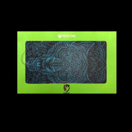 خرید Skin برچسب Xbox One S طرح Blue Wolf