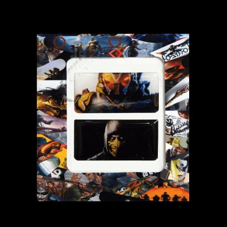 خرید استیکر تاچ پد PS4 طرح Anthem-Mortal Kombat