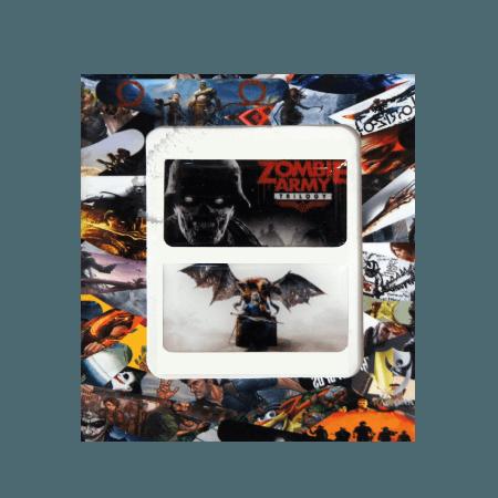 خرید استیکر تاچ پد PS4 طرح Zombie Army