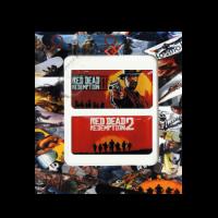 خرید استیکر تاچ پد PS4 طرح Red Dead 2
