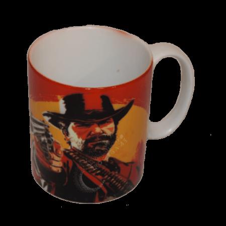 خرید لیوان سرامیکی ماگ Red Dead 2 Arthur Morgan
