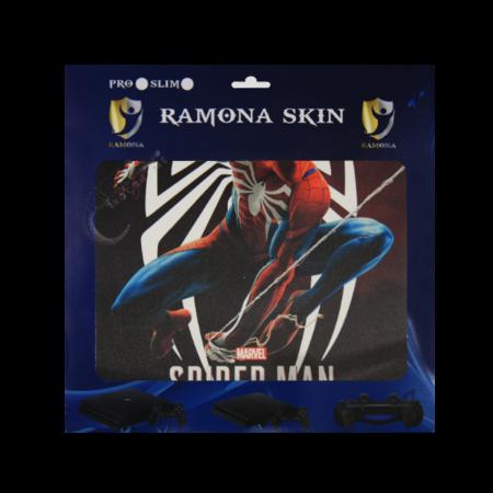 خرید Skin برچسب PS4 Slim طرح Spider man
