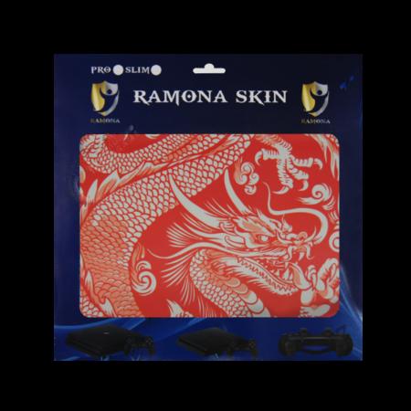 خرید Skin برچسب PS4 Slim طرح Dragon