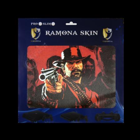 خرید Skin برچسب PS4 Slim طرح Red Dead 2 Arthur Morgan