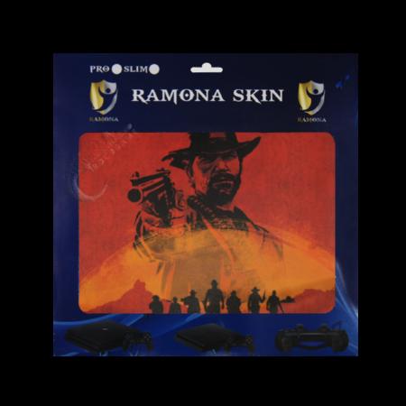 خرید Skin برچسب PS4 Slim طرح Red Dead 2 Morgan