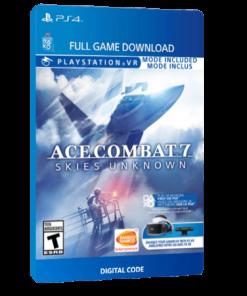 خرید بازی دیجیتال Ace Combat 7 Skies Unknown برای PS4