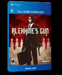 خرید بازی دیجیتال Alekhine's Gun برای PS4