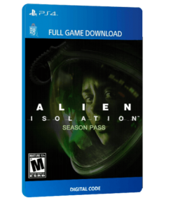 خرید بازی دیجیتال Alien Isolation with Season Pass برای PS4