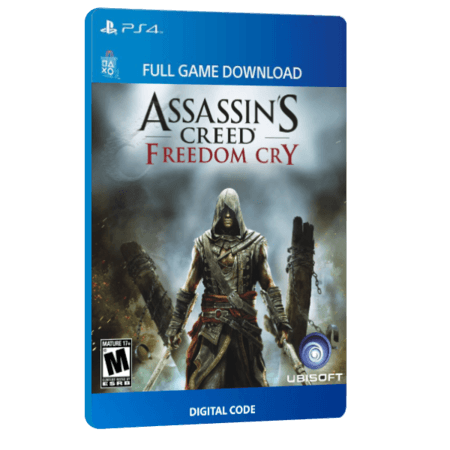 خرید بازی دیجیتال Assassin's Creed IV Black Flag Freedom Cry Standalone برای PS4