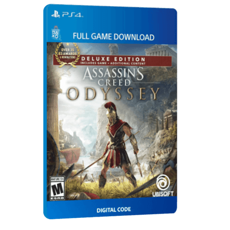 خرید بازی دیجیتال Assassin's Creed Odyssey Deluxe Edition برای PS4
