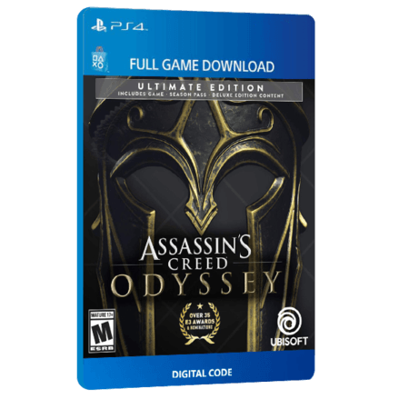 خرید بازی دیجیتال Assassin's Creed Odyssey Ultimate Edition برای PS4
