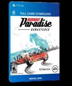 خرید بازی دیجیتال Burnout Paradise Remastered برای PS4