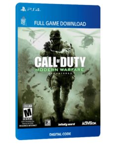 خرید بازی دیجیتال Call of Duty 4 Modern Warfare Remastered برای PS4