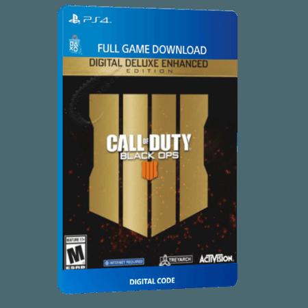 خرید بازی دیجیتال Call of Duty Black Ops 4 Deluxe Enhanced Edition برای PS4
