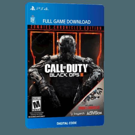 خرید بازی دیجیتال Call of Duty Black Ops III Zombies Chronicles Deluxe برای PS4