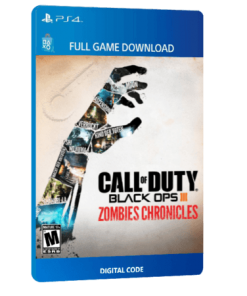 خرید بازی دیجیتال Call of Duty Black Ops III Zombies Chronicles Edition برای PS4