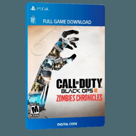 خرید بازی دیجیتال Call of Duty Black Ops III Zombies Chronicles Edition برای PS4