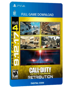 خرید بازی دیجیتال Call of Duty Infinite Warfare Retribution