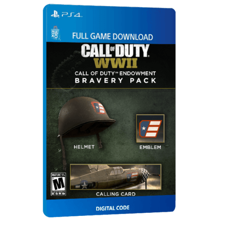 خرید DLC بازی دیجیتال Call of Duty WWII Call of Duty Endowment Bravery Pack