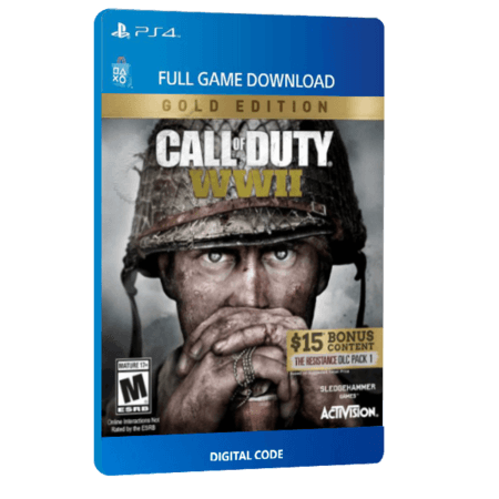 خرید بازی دیجیتال Call of Duty WWII Gold Edition