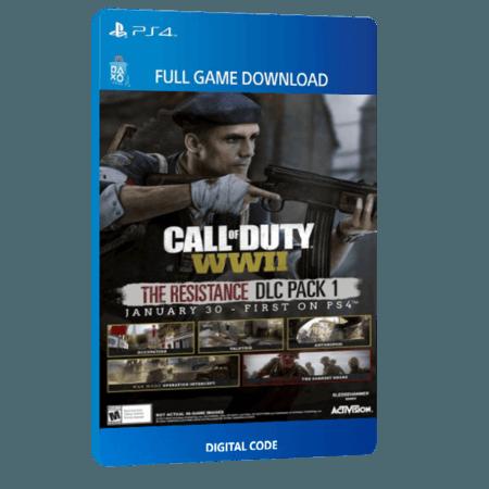 خرید DLC بازی دیجیتال Call of Duty WWII The Resistance DLC Pack 1