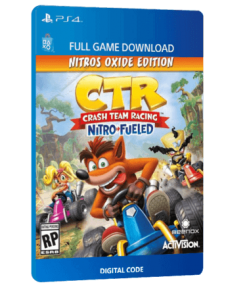 خرید بازی دیجیتال Crash Team Racing Nitro Fueled Nitros Oxide Edition
