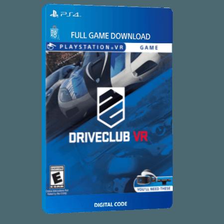 خرید بازی دیجیتال DRIVECLUB VR برای PS4