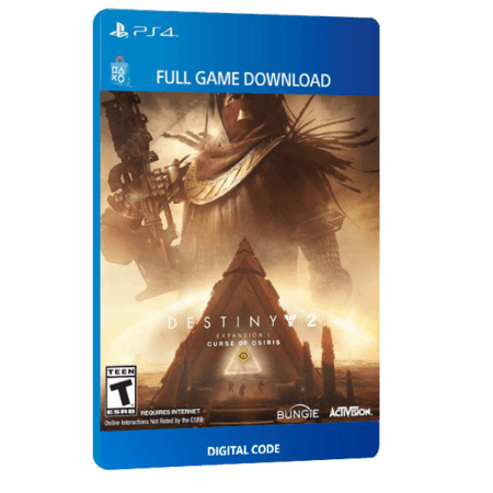 خرید DLC بازی دیجیتال Destiny 2 Expansion I Curse of Osiris