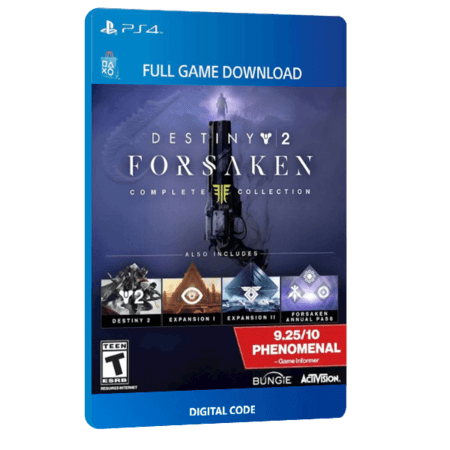 خرید بازی دیجیتال Destiny 2 Forsaken Complete Collection