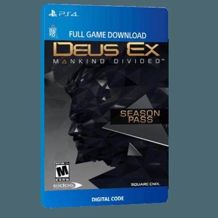 خرید Season Pass دیجیتال بازی دیجیتال Deus Ex Mankind Divided برای PS4
