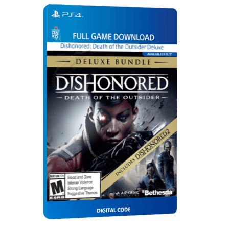 خرید باندل بازی های دیجیتال Dishonored Death of the Outsider Deluxe Bundle