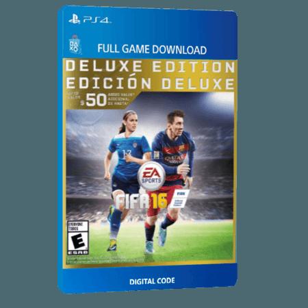 خرید بازی دیجیتال FIFA 16 Deluxe Edition برای PS4