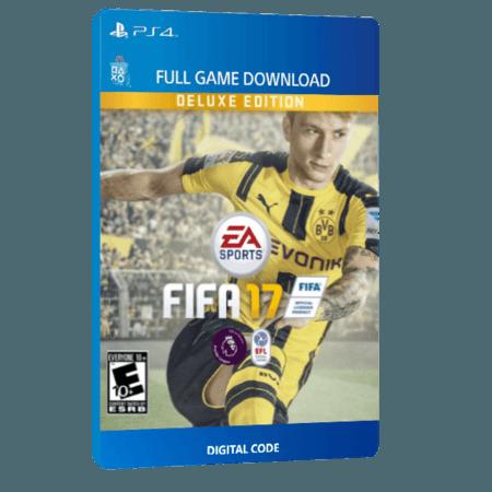 خرید بازی دیجیتال FIFA 17 Deluxe Edition برای PS4