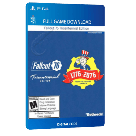 خرید بازی دیجیتال Fallout 76 Tricentennial Edition