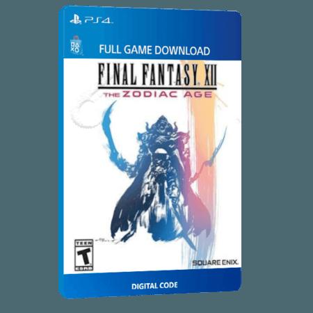 خرید بازی دیجیتال Final Fantasy XII The Zodiac Age برای PS4