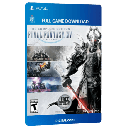 خرید بازی دیجیتال Final Fantasy XIV Online Starter Editionبرای PS4