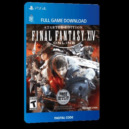 خرید بازی دیجیتال Final Fantasy XIV Online Starter Packبرای PS4