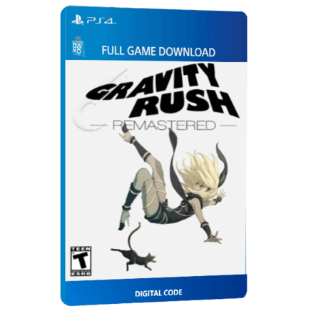 خرید بازی دیجیتال Gravity Rush Remastered