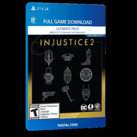 خرید بازی دیجیتال Injustice 2 Ultimate Packبرای PS4