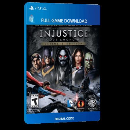 خرید بازی دیجیتال Injustice Gods Among Us Ultimate Editionبرای PS4
