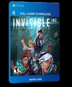 خرید بازی دیجیتال Invisible Inc. Console Editionبرای PS4