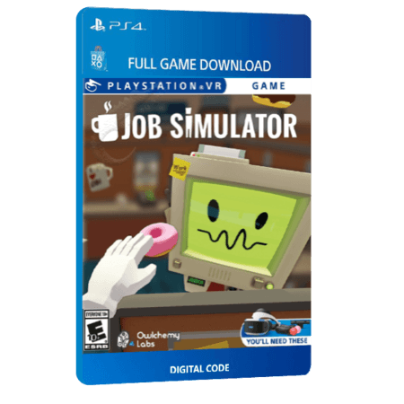 خرید بازی دیجیتال Job Simulator VRبرای PS4