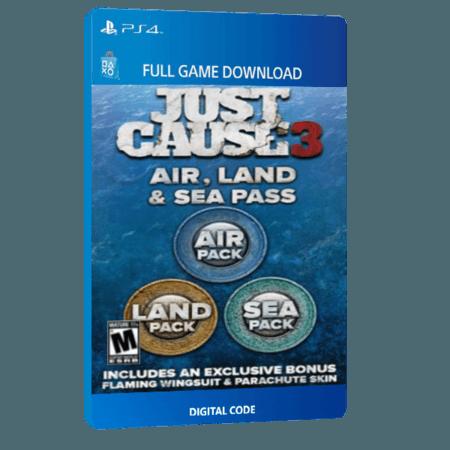 خرید DLC بازی دیجیتال Just Cause 3 Air Land and Sea Expansion Pass برای PS4 خرید DLCبازی دیجیتال Just Cause 3 Air Land and Sea Expansion Pass برای کنسول PS4 از وبسایت کروکوگیم. تحویل و ارسال کد دیجیتالی بازی تنها
