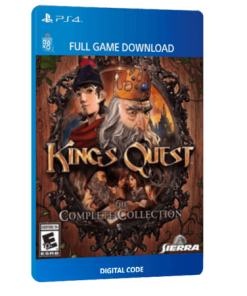 خرید بازی دیجیتال King's Quest The Complete Collection