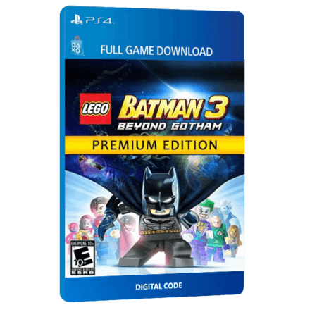 خرید بازی دیجیتال LEGO Batman 3 Beyond Gotham Premium Edition برای PS4