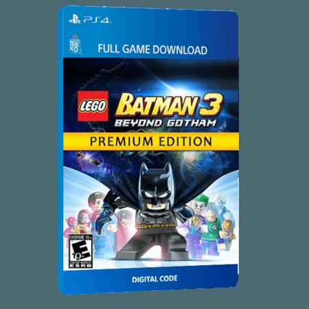 خرید بازی دیجیتال LEGO Batman 3 Beyond Gotham Premium Editionبرای PS4