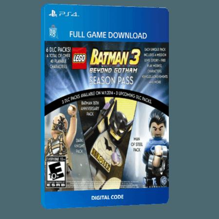 خرید Season Pass دیجیتال بازی دیجیتال LEGO Batman 3 Beyond Gotham برای PS4