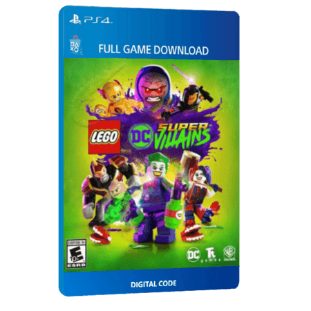 خرید بازی دیجیتال LEGO DC Super Villainsبرای PS4