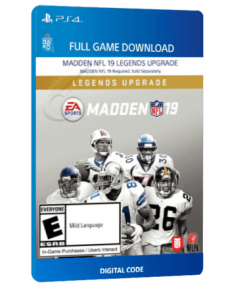 خرید بازی دیجیتال Madden NFL 19 Legends Upgradeبرای PS4