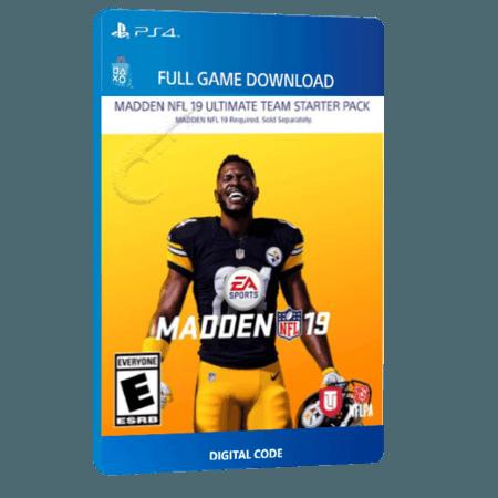 خرید بازی دیجیتال Madden NFL 19 Ultimate Team Starter Packبرای PS4